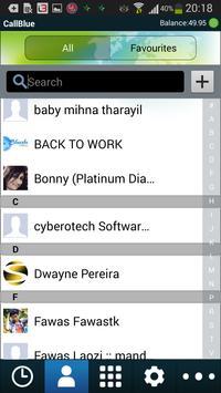 CallBlue iTel apk screenshot