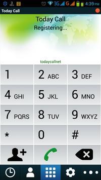 Todaycall apk screenshot