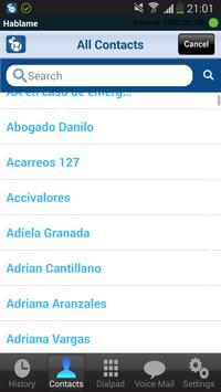 Hablame VoIP screenshot 1