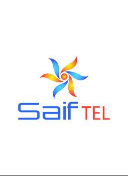 SAIF TEL poster