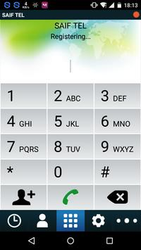 SAIF TEL screenshot 1