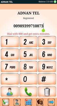 ADNAN TEL Mobile Dialer poster