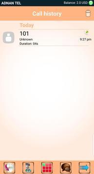ADNAN TEL Mobile Dialer apk screenshot