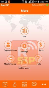Royal SIP apk screenshot