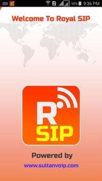Royal SIP poster