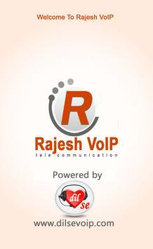 Rajesh VoIP poster