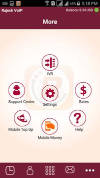 Rajesh VoIP apk screenshot