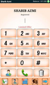 SHARIB AZMI PLUS DIALER apk screenshot