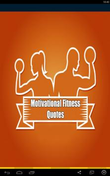 Motivational Fitness Quotes poster