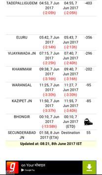 Train Live Running Status screenshot 3