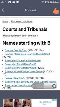 UK Court apk screenshot