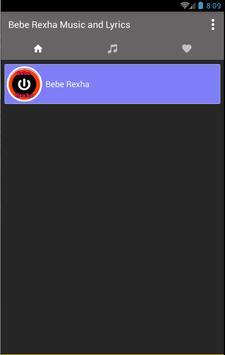Bebe Rexha Music & Lyric 2018 apk screenshot