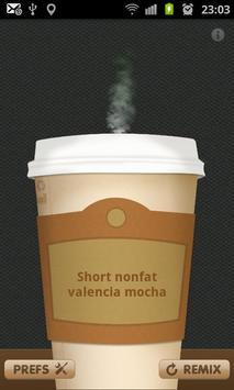 Coffee Generator poster