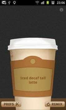 Coffee Generator apk screenshot