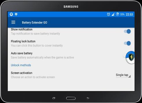 Battery Extender GO - Full Free apk screenshot