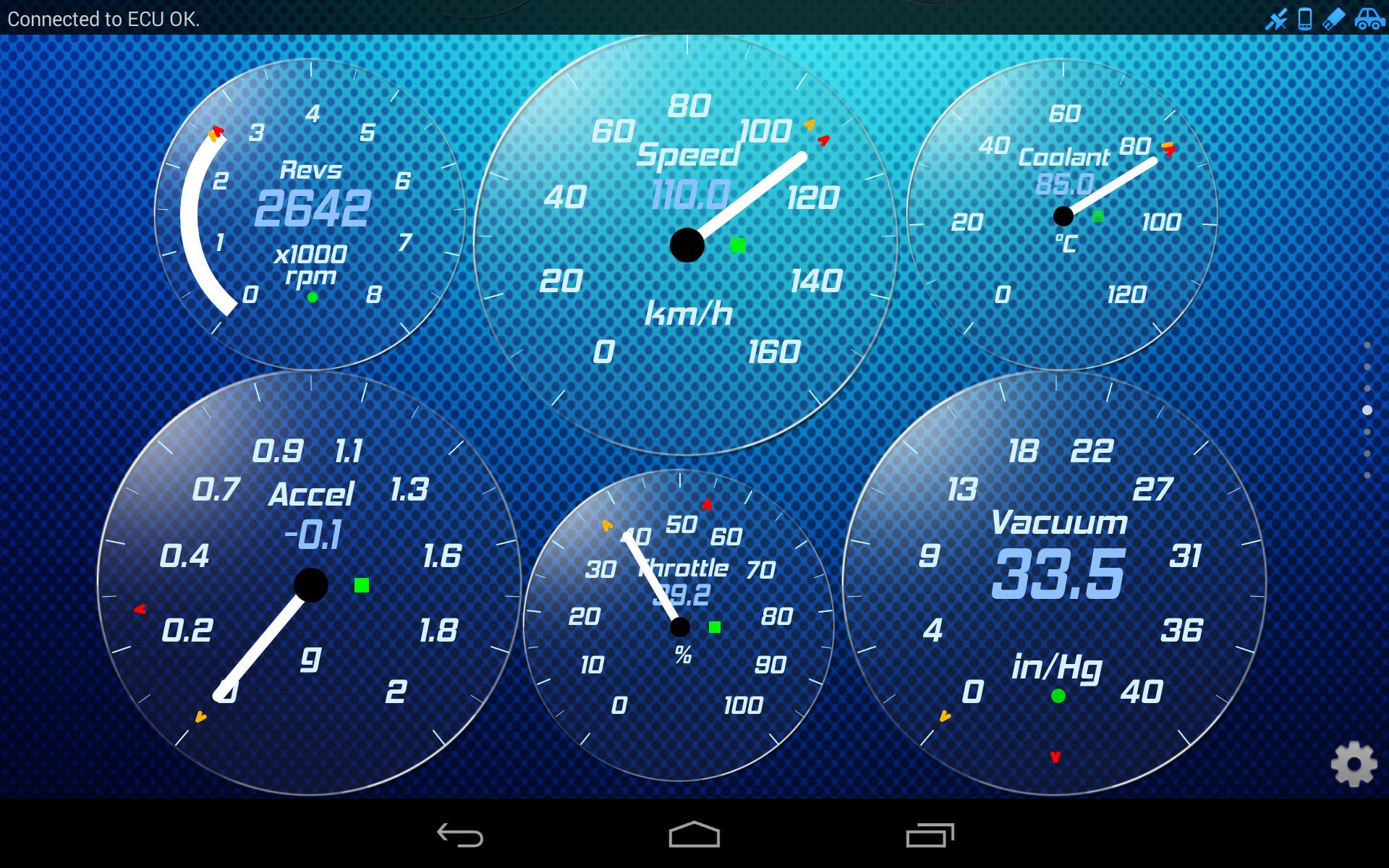 Torque Theme Gold Glass OBD 2 for Android - APK Download