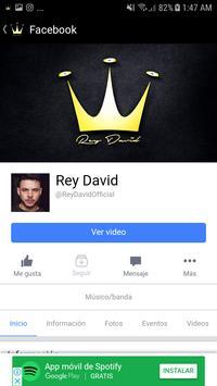 REY DAVID apk screenshot