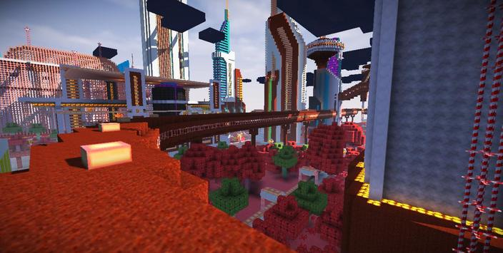 Candy Craft Megalopolis Mode poster