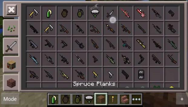 Pixel gun mine: craft MCPE apk screenshot