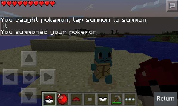 Pixelmon: Story mode Jungle GO apk screenshot