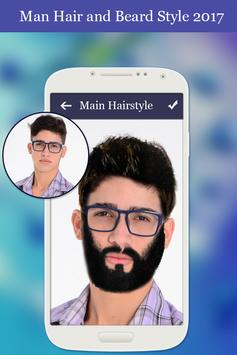 Man Hair and Beard Style 2018 poster
