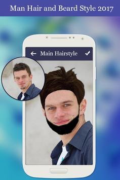 Man Hair and Beard Style 2018 screenshot 3