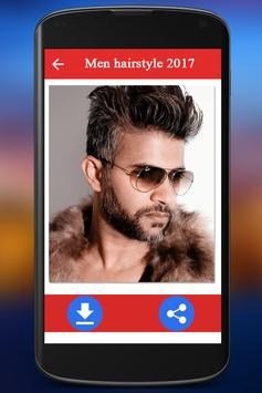 Men hairstyle set my face 2018 apk screenshot