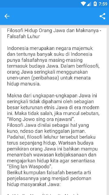Kumpulan Kata Bijak Leluhur Jawa Kuno For Android Apk Download