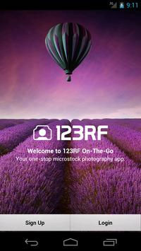 123RF On-The-Go poster