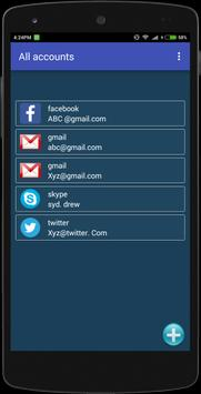 Password Safe Manager apk screenshot
