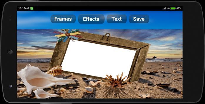 Cool Beach Photo Frames screenshot 8