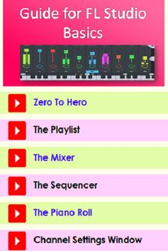 Guide for FL Studio Basics poster