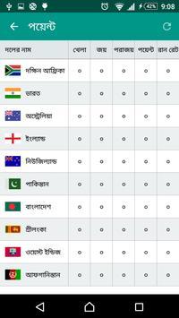 বিশ্বকাপ ক্রিকেট ২০১৯ screenshot 6