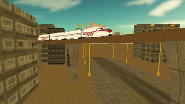 Desert Bullet Train 2017 apk screenshot