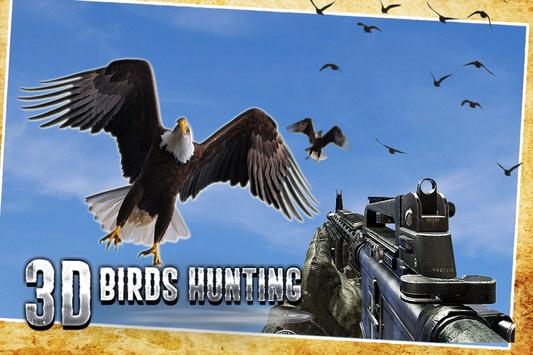 Flying Birds Hunt 3D poster