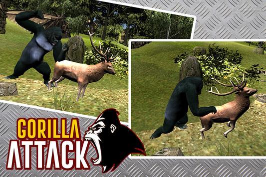 gorilla Attack Simulator 3D apk screenshot
