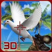 Pigeon Spy Hunting 3D icon