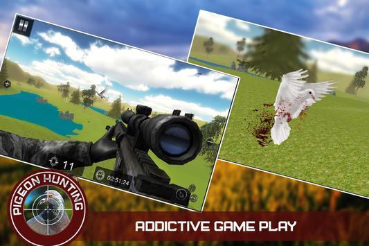 Pigeon Spy Hunting 3D apk screenshot