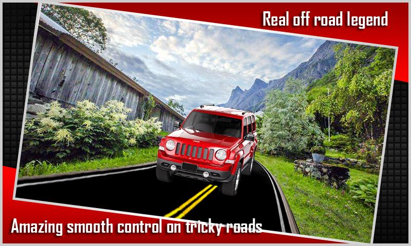 Real Mountain Jeep Simulator 1