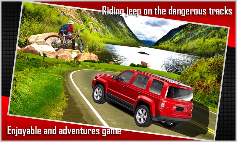 Real Mountain Jeep Simulator 3