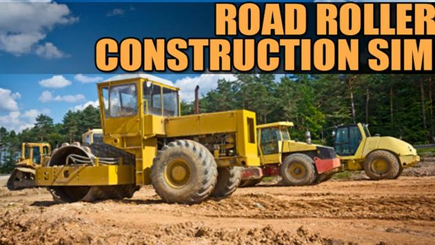 Road Roller Construction Sim poster