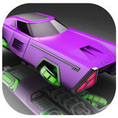 Space Car Stunt Racing and Parking Game icon
