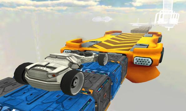 Space Car Stunt Racing and Parking Game screenshot 4