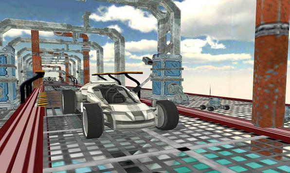Space Car Stunt Racing and Parking Game screenshot 6