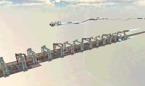 Space Car Stunt Racing and Parking Game screenshot 2