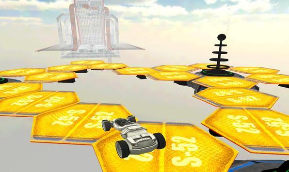 Space Car Stunt Racing and Parking Game screenshot 3