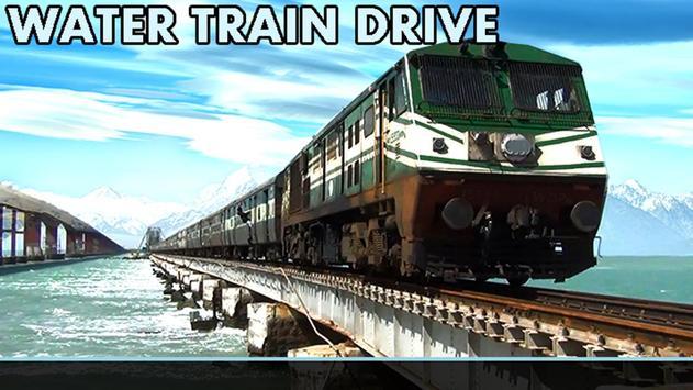 Water Train Drive apk screenshot