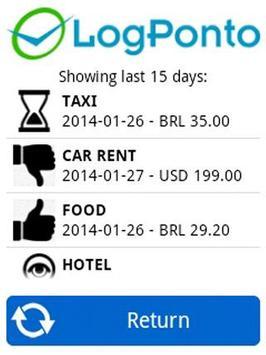Working Hours LogPonto screenshot 5