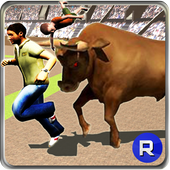 Angry Bull Street Fight Attack icon