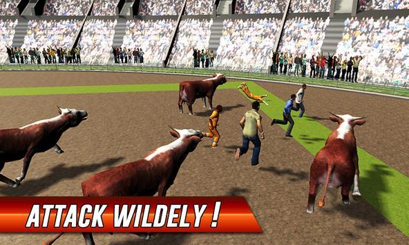 Angry Bull Street Fight Attack apk screenshot